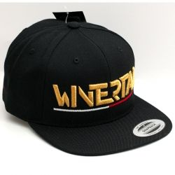 "Cap with flat shade ""LOGO"" Gold"