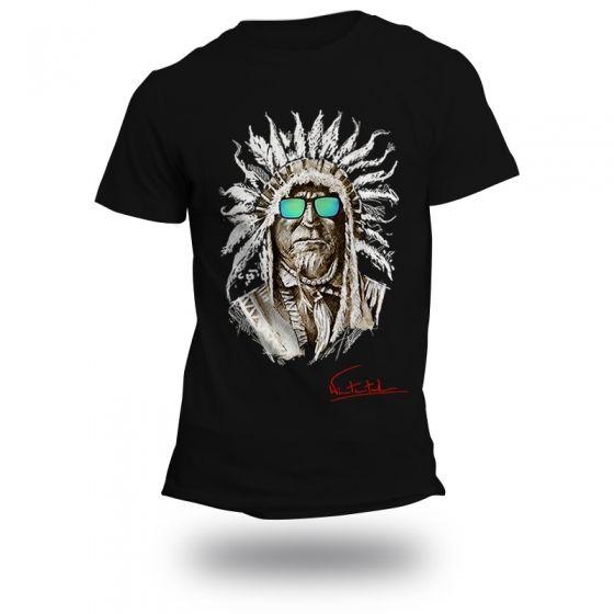 """T-shirt """"INDIAN"""" Man - 1"""