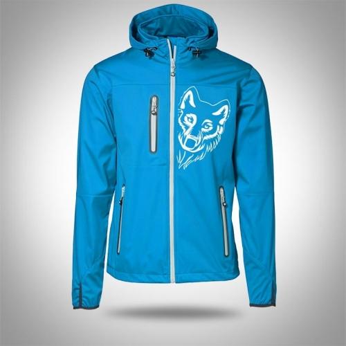 Softshell jacket AARHUS Turquoise Man