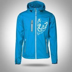 """Softshell jacket """"AARHUS"""" Turquoise Man"""