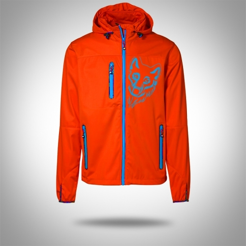 Softshell jacket AARHUS Orange Man