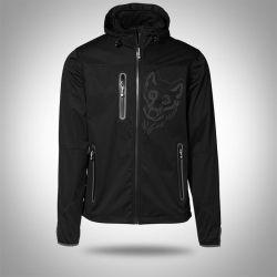 """Softshell jacket """"AARHUS"""" Black Man"""