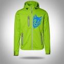 """Softshell jacket """"AARHUS"""" Lime Man"""
