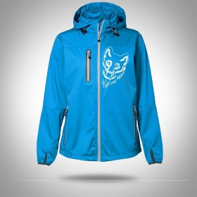 Softshell jacket AARHUS Turquoise Woman