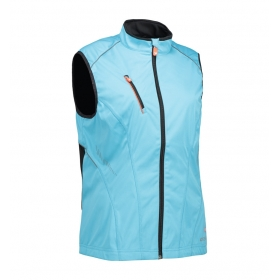 Woman Softshell Running Vest GEYSER