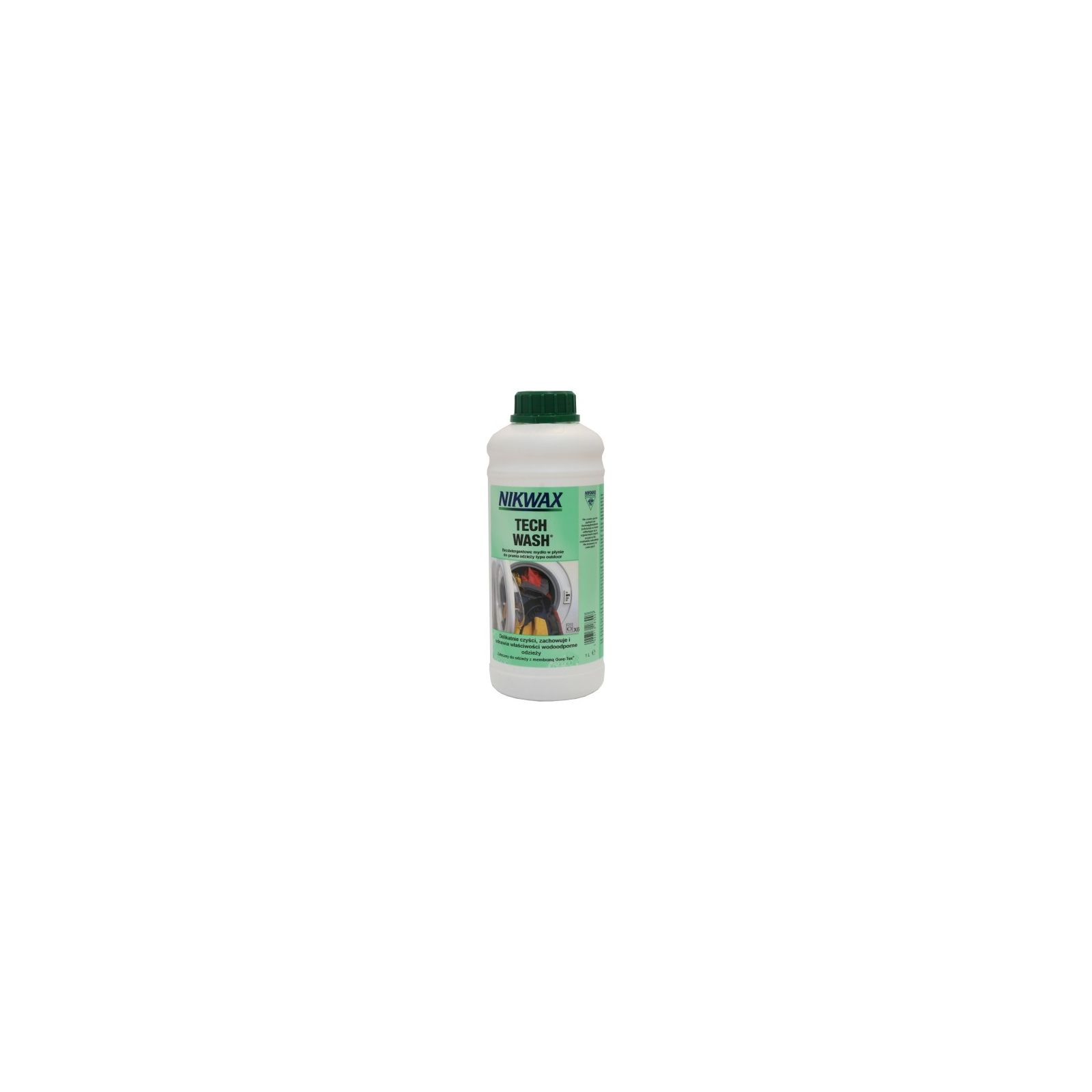 Trespass Nikwax Tech Wash In Cleaner For Outdoor Clothing /& Equipment 1 Litre