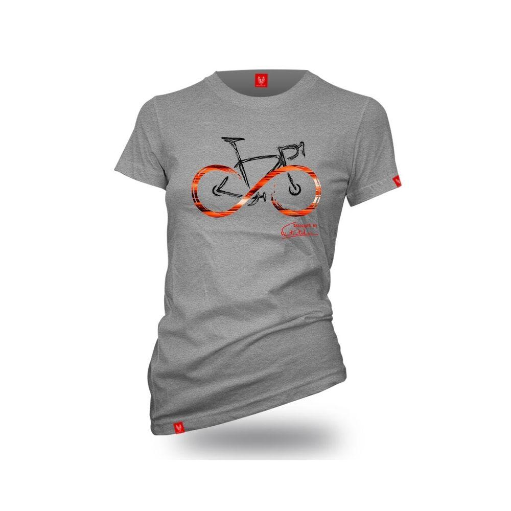 "Bike T-shirt ""INFINITY GREY "" Men"