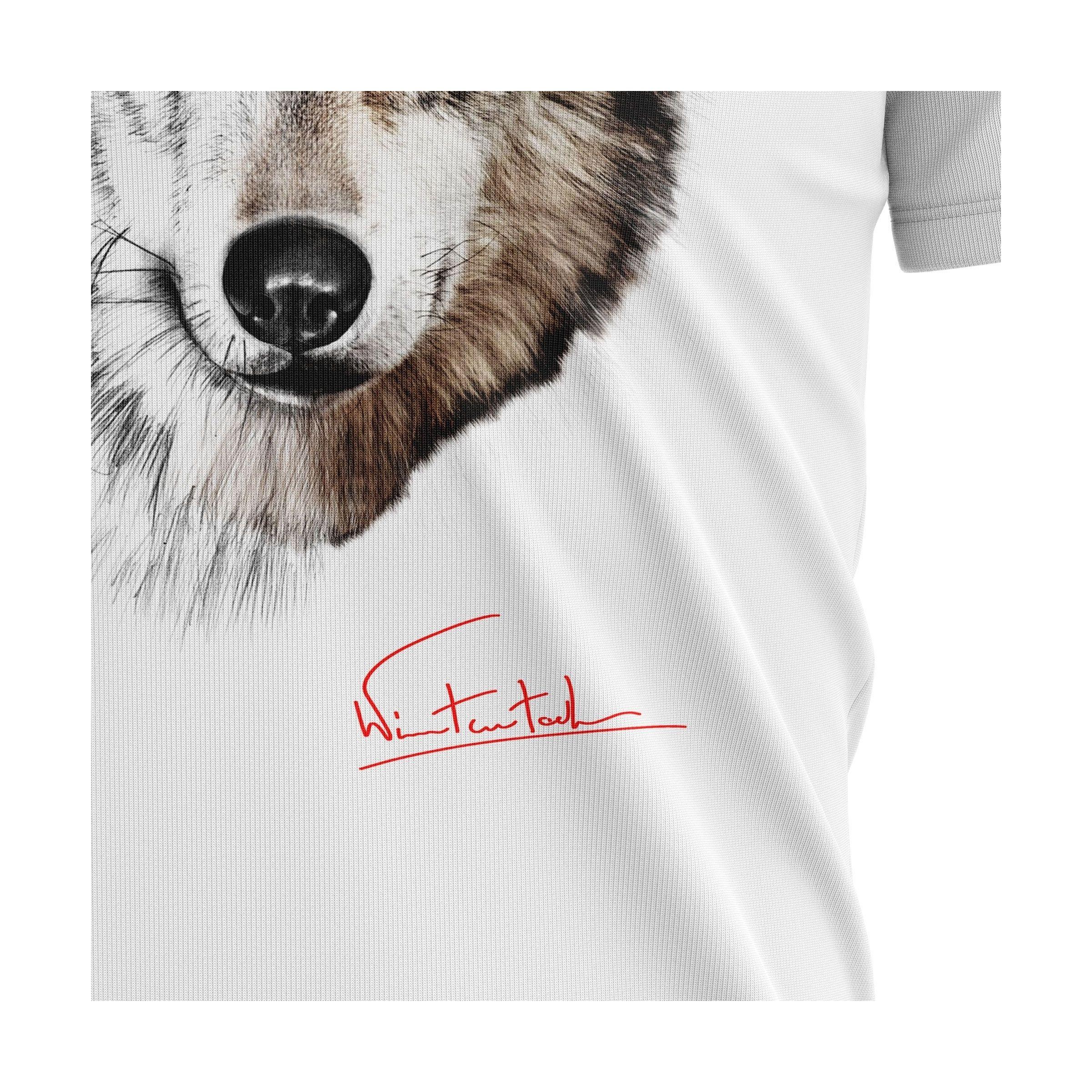 WOLF   Koszulka męska z Wilkiem idealna na prezent