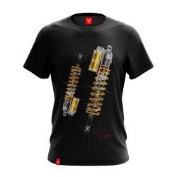 """Motorcycle T-shirt """"SUSPENSION"""" Man"""