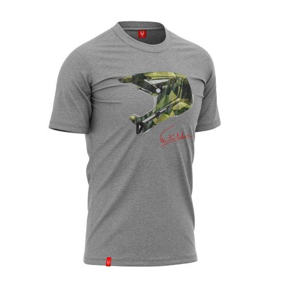 """Koszulka dla rowerzysty """"CAMO GREY"""" Męska"""