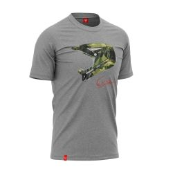 "Bike T-shirt ""CAMO GREY"" Man"