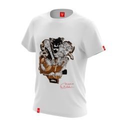 "Koszulka dla motocyklisty ""ENGINE"" Męska"