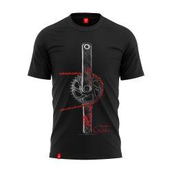 "Bike T-shirt ""CHAIN RED"" Man"