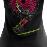 "Bike T-shirt ""CHAIN LIMON&PINK"" Woman"