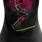 """Koszulka dla rowerzystki """"CHAIN LIMON&PINK"""" Damska"""