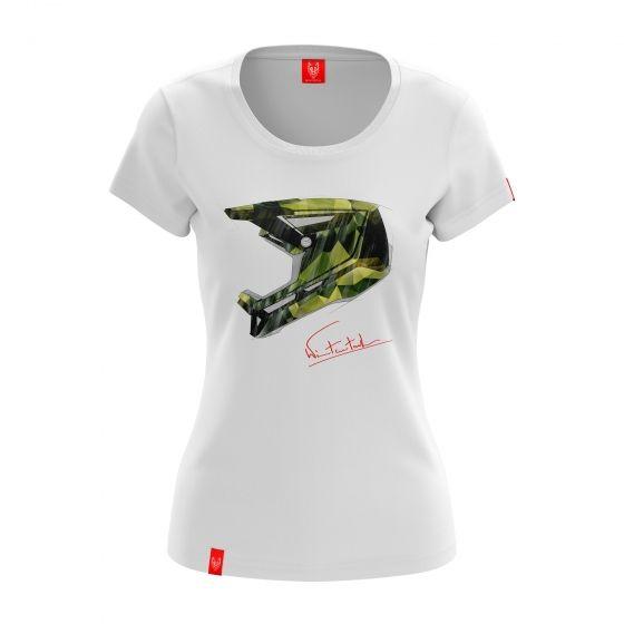 """Bike T-shirt """"CAMO"""" Woman"""