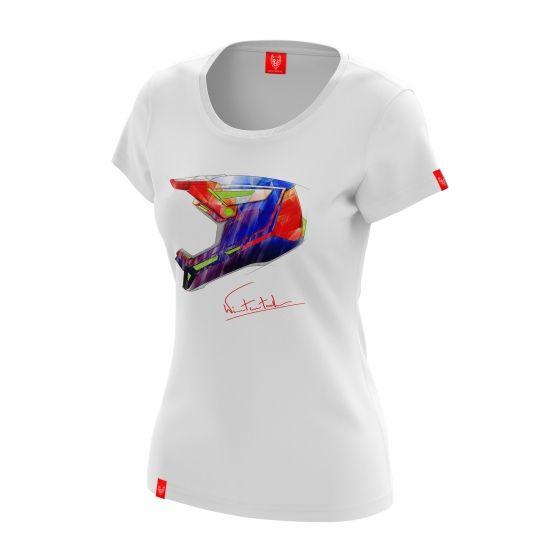 "Bike T-shirt ""RAINBOW"" Woman"