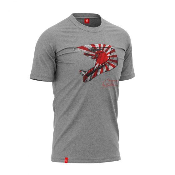 """Bike T-shirt """"KAMIKAZE"""" Man"""