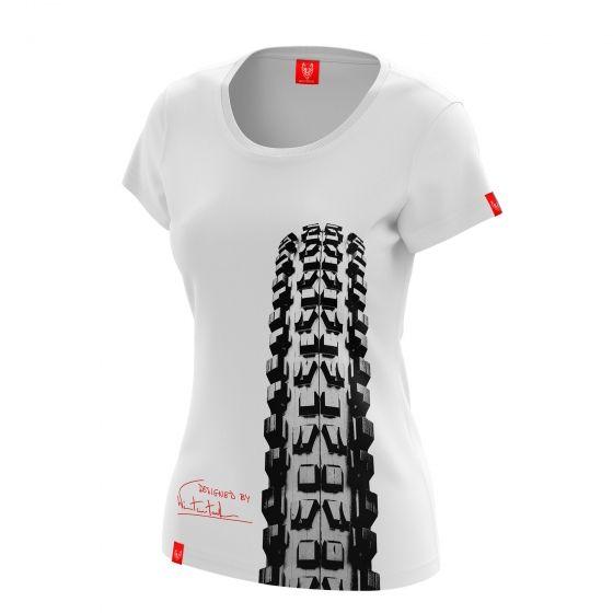 """Bike T-shirt """"MINION"""" Woman"""