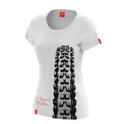 """Koszulka dla rowerzystki """"MINION"""" Damska"""