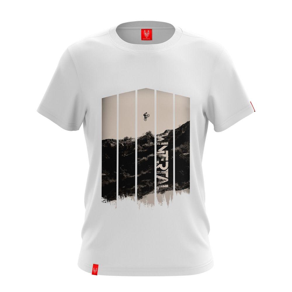 """Koszulka """"FURY WHITE"""" Męska"""