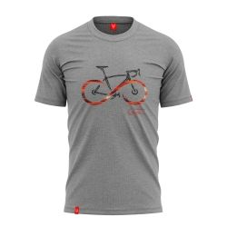 "Bike T-shirt ""INFINITY GREY"" Men"