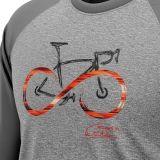 """Koszulka dla rowerzysty """"INFINITY GREY"""" Męska"""
