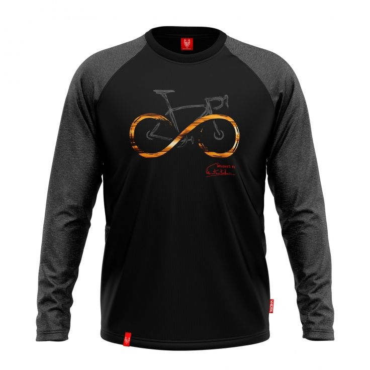 "Bike T-shirt ""INFINITY BLACK"" Men"
