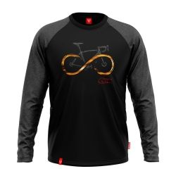 INFINITY BLACK LONG SLEEVE | Men