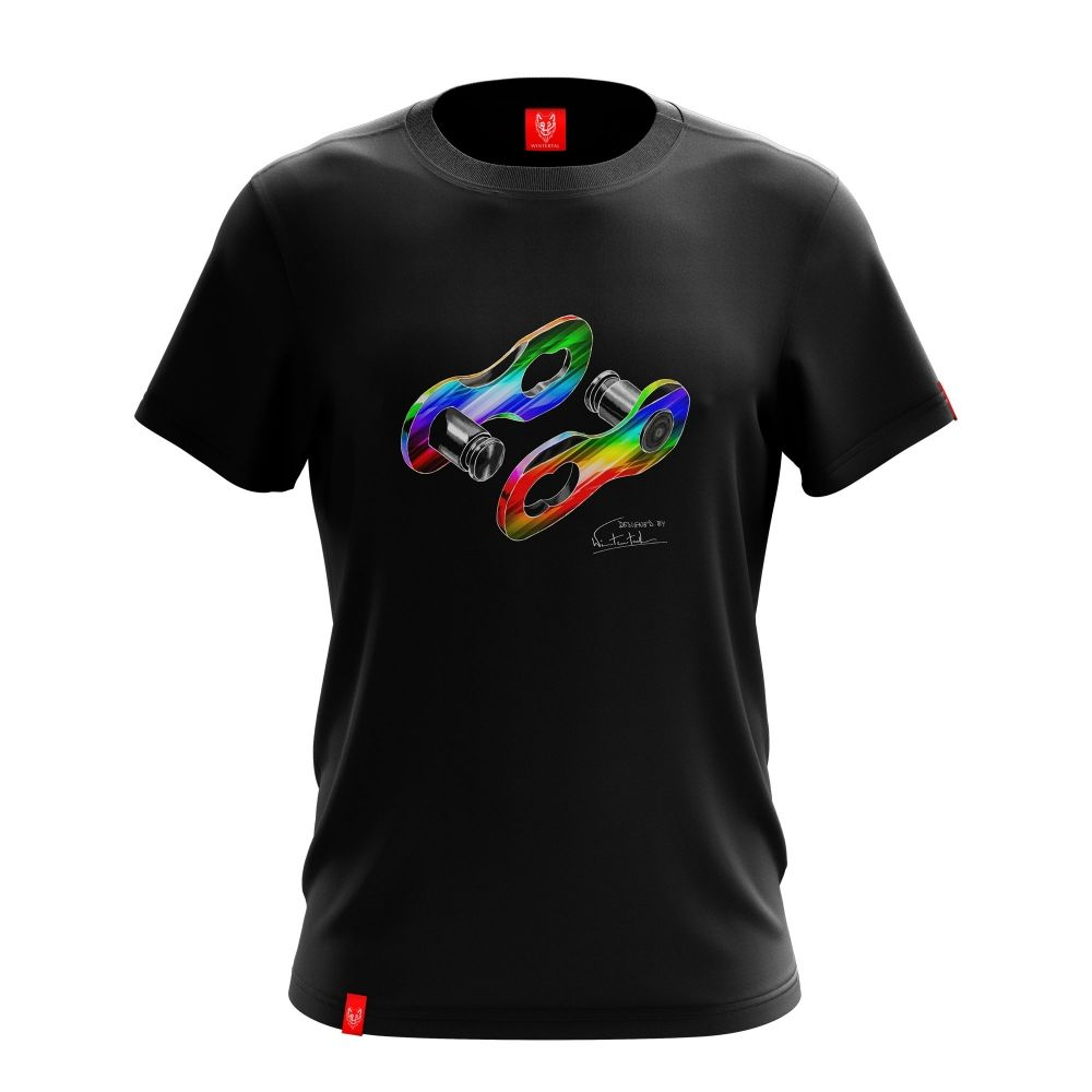 "Bike t-shirt ""LINK DISCO"" Men"