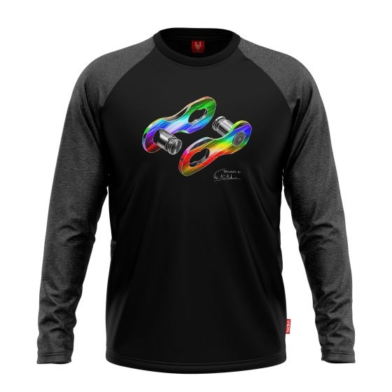 "Bike longsleeve ""LINK DISCO "" Men - 1"