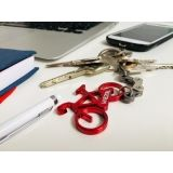 Keychain RED BIKE