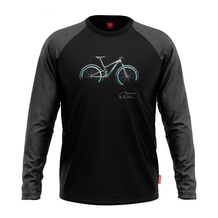 "Bike longsleeve ""PASSION"" Men - 1"