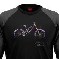 "Bike longsleeve ""ADDICTION"" Men"