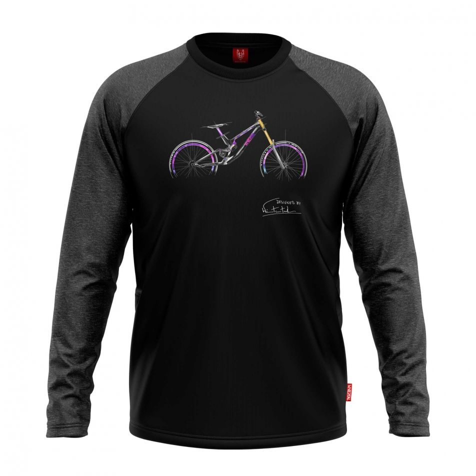 "Koszulka dla rowerzysty ""ADDICTION"" Męska"