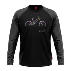 "Bike longsleeve ""ADDICTION"" Men"