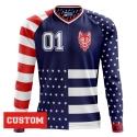 "Personalized Jersey ""AMERICANO"" long sleeve"