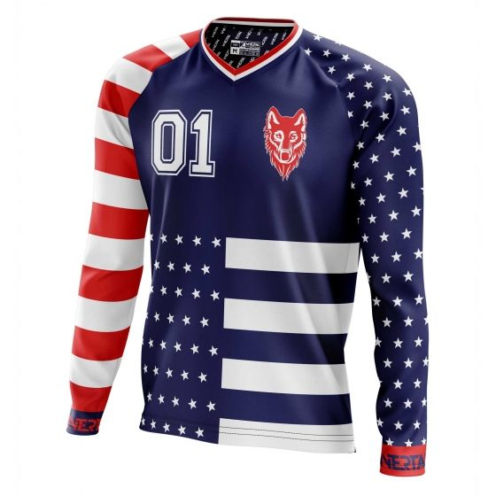 "Jersey ""AMERICANO"" long sleeve - 3"