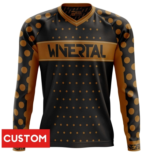 "Customized jersey ""COFFEE"" long sleeve"