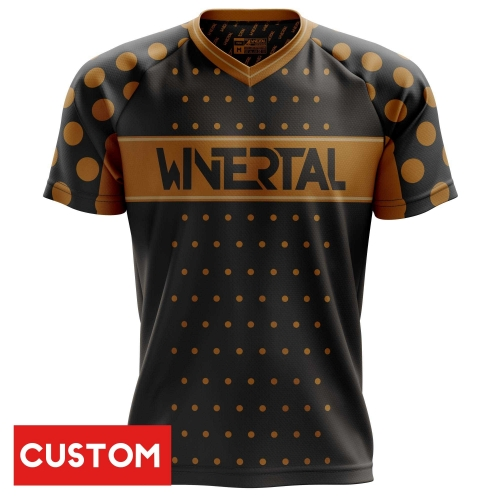 "Customized jersey ""COFFEE"" short sleeve"