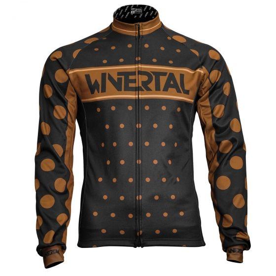 "Cycling long sleeve jersey ""COFFEE"""