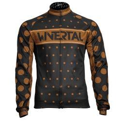 "Cycling long sleeve jersey man ""COFFEE"""
