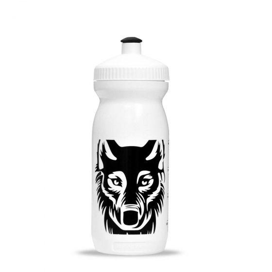 Water Bottle WHITE/BLACK 0,6L - 1