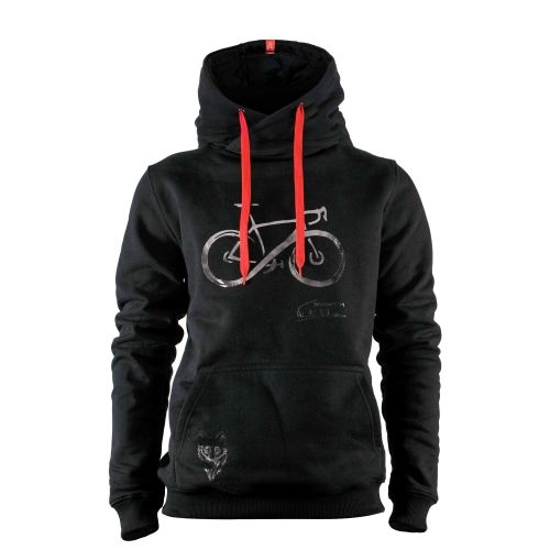 INFINITY CARBON BLACK METALLIC HOODIE | Men