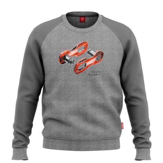 """Bike sweatshirt """"LINK"""" Men - 1"""