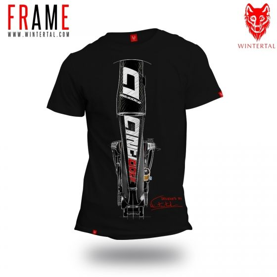"Bike T-shirt ""FRAME"" Man"