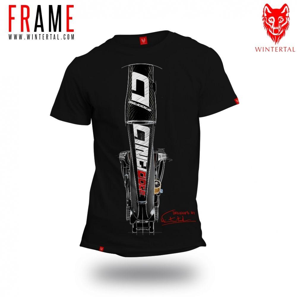 """Bike T-shirt """"FRAME"""" Man"""