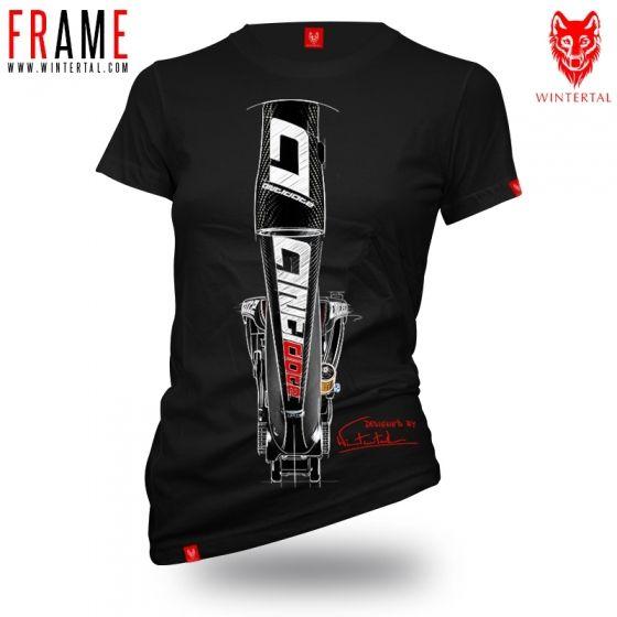 """Koszulka dla rowerzystki """"FRAME"""" Damska"""