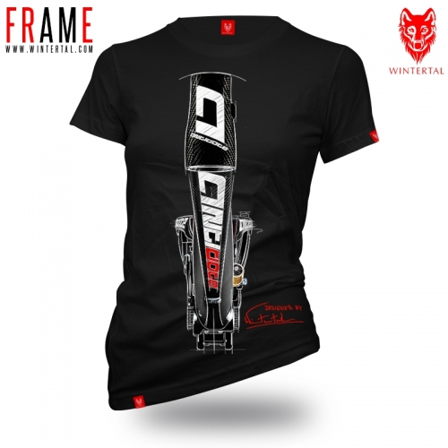 "Bike t-shirt ""FRAME"" Woman"