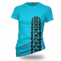"Bike T-shirt ""BLUE MINION"" Woman"